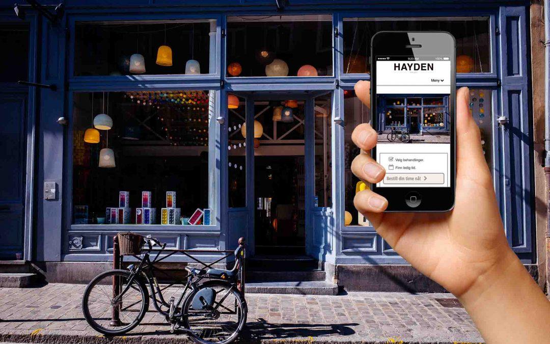 Styrk salongens digitale tilstedeværelse